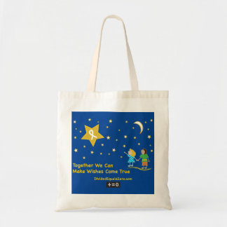 Wishes-Childhood Cancer Awareness Tote Bag