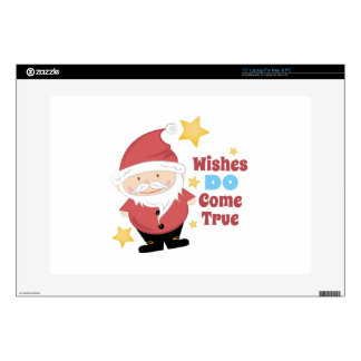 """Wishes Come True Decal For 15"""" Laptop"""