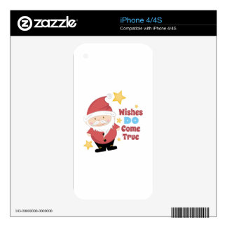 Wishes Come True Skins For The iPhone 4