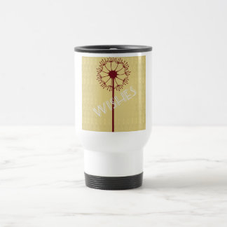 Wishes Dandelion Travel Mug