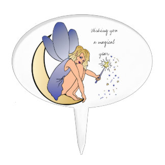 Wishes for a Magical Year Fairy Cake Topper