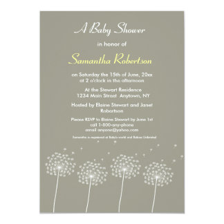 Wishes for Baby Shower Invitation