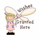 Wishes Granted Fairy Godmother Acrylic Cut Out