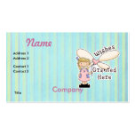 Wishes Granted Fairy Godmother Business Card
