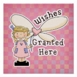 Wishes Granted Fairy Godmother Posters