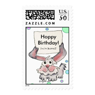 Wishes Happy Birthday Postage Stamps
