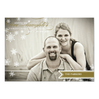 Wishes Holiday Photo Card Invite