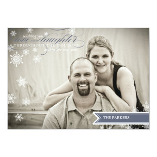 Wishes Holiday Photo Card Personalized Announcement
