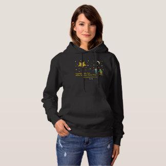 Wishes Women's Basic Hooded Sweatshirt