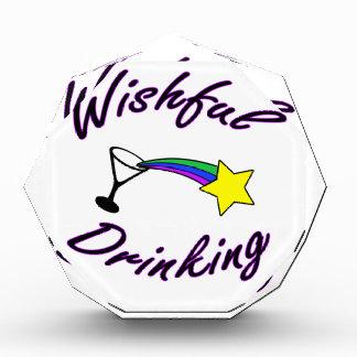 Wishful Drinking Acrylic Award