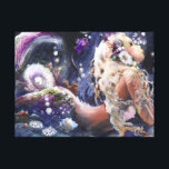 """Wishful Mermaid Wrapped Canvas<br><div class=""""desc"""">created from original ART</div>"""