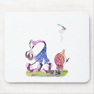 wishful thinking - golf, tony fernandes mouse pad