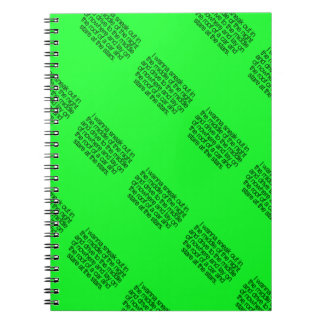WISHFUL THINKING SNEAK OUT MIDDLE IGHT DRIVE NOWHE SPIRAL NOTE BOOK
