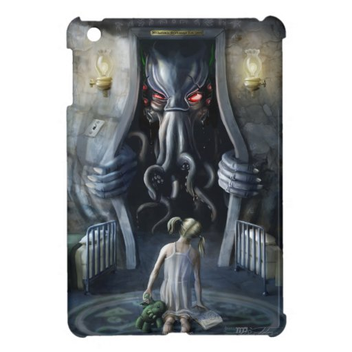 Wishful Thinking v2 : Cthulhu Entering Our World Cover For The iPad Mini