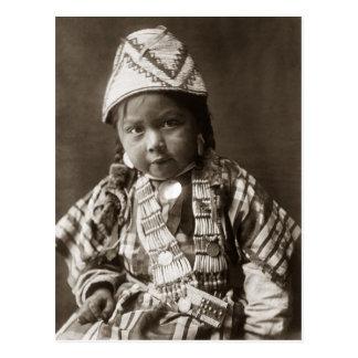 Wishham Indian child Postcard
