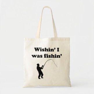 Wishin I era Fishin Bolsas