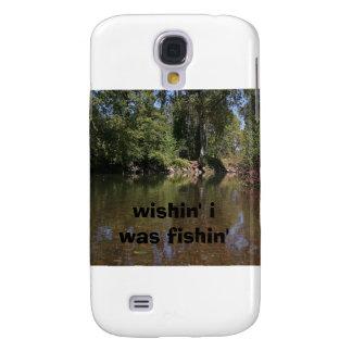 wishin' i was fishin' samsung galaxy s4 case