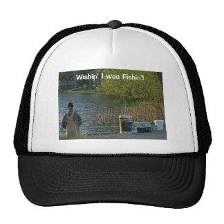 Wishin' I Was Fishin' Trucker's Hat