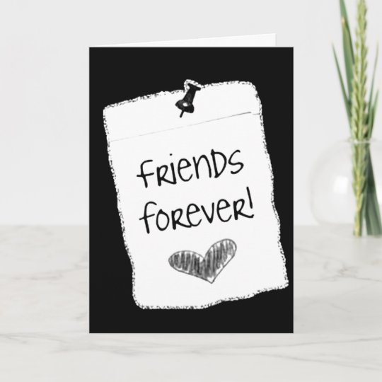 WISHING A BEST FRIEND FOREVER HAPPY BIRTHDAY CARD