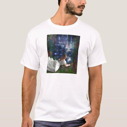 WISHING AT STARLIGHT POND T-Shirt