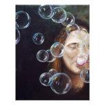 Wishing Bubbles Customized Letterhead