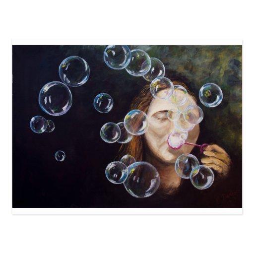 Wishing Bubbles Postcard