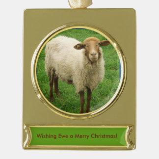 Wishing EWE a Merry Christmas Ornament