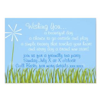 Wishing Flower Card