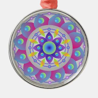 Wishing for Spring...Mandala Metal Ornament