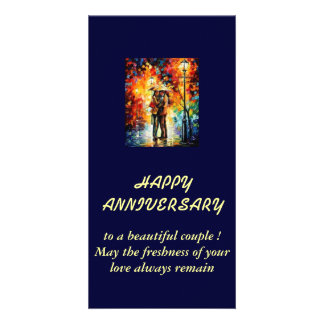wishing for wedding anniversary card