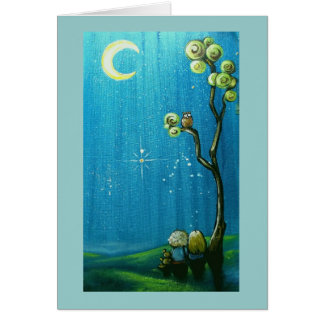 Wishing on a Star Birthday Message Card