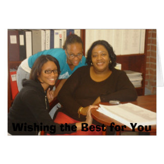 Wishing the Best for You Card
