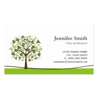 Wishing Tree of Hearts - Appointment Double-Sided Standard Business Cards (Pack Of 100)