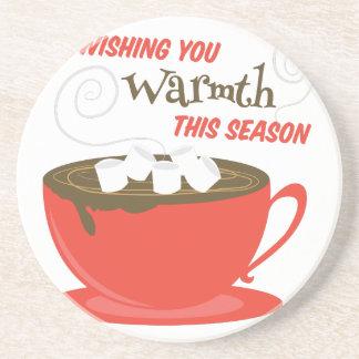 Wishing Warmth Drink Coaster