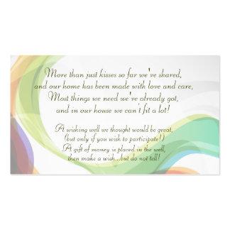 Wishing Well Business Card - Custom Print 2