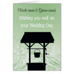'Wishing well' card, great for gifts of $