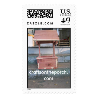 wishing well, craftsontheporch.com postage stamps