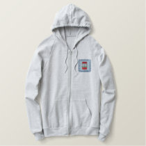 Wishing Well Embroidered Hoodie