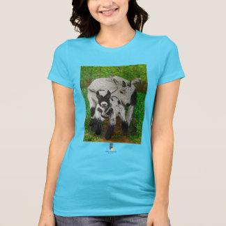 Wishing Well Goats, Ladies T-Shirt