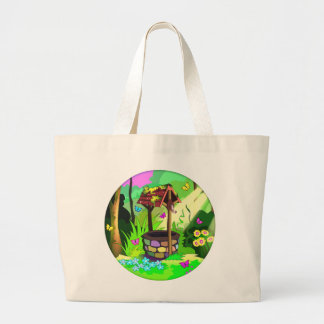Wishing Well Magic Forest Sunshine Butterflies Bags