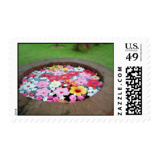 wishing well postal stamps