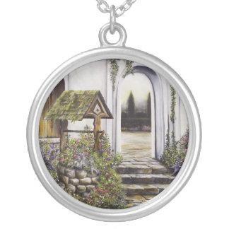 Wishing Well Sterling Silver Necklace