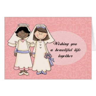 Wishing You A Beautiful Life Together 3 Card
