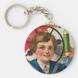 Wishing You a Glorious 4th of July Key Chain
