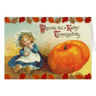 Wishing You a Happy Thanksgiving Greeting Card
