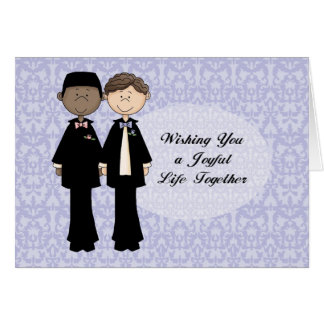 Wishing You A Joyful Life Together (2) Card