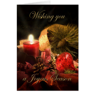 Wishing You a Joyous Season Christmas Card