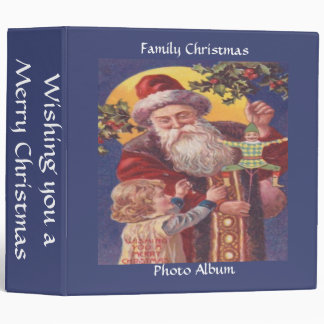 Wishing You a Merry Christmas 3 Ring Binder