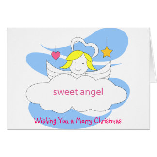 Wishing You a Merry Christmas by sweet angel Card