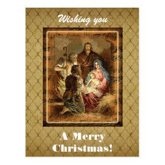Wishing You A Merry Christmas Custom Postcard